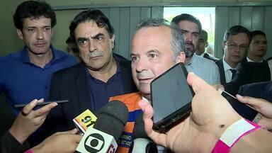 Ministro do Desenvolvimento Regional esteve em Belo Horizonte - Ele se reuniu com os prefeitos das cidades mineiras atingidas pelas chuvas de janeiro.