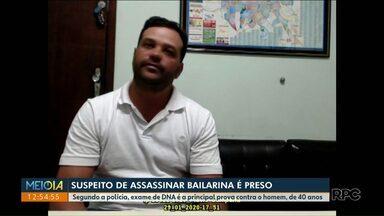 Suspeito de matar bailarina muda versão do depoimento - Flávio Campana afirma, agora, que teve relação com Maria Glória, mas nega estupro.