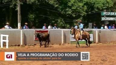 Rodeio de Espumoso ocorre neste fim de semana; confira a programação - Evento conta com competições e apresentações artísticas.