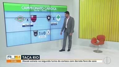 Times da região estreiam neste fim de semana na Taça Rio - Confira a seguir.