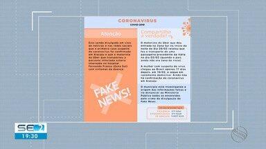 Prefeitura de Aracaju desmente notícia falsa sobre coronavírus - Prefeitura de Aracaju desmente notícia falsa sobre coronavírus.
