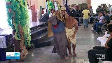 Campanha da fraternidade é lançada em São Luís - O repórter Adailton Borba tem mais informações.