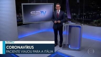 SP2 - Edição de Sábado, 29/02/2020 - Segundo caso de coronavírus é confirmado na cidade de São Paulo. Secretária de Saúde do estado fez notificação neste sábado (29). Paciente esteve na Itália. E mais as notícias do dia.