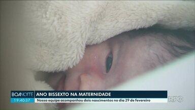 Bebês que nascem no dia 29 de fevereiro devem ser registrados com esta data - Conheça quem veio ao mundo nessa data que só se repete em anos bissextos.