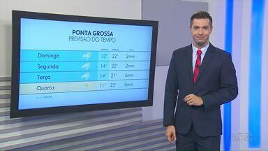 Temperatura cai nos primeiros dias de março - Meteorologistas não descartam pancadas de chuva nos primeiros dias do mês na região dos Campos Gerais.