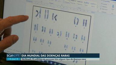 Dia 29 de fevereiro é o dia mundial das doenças raras - No Brasil, 13 milhões de pessoas têm algum tipo de doença rara.