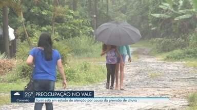 Itariri está em estado de atenção após previsão de chuva - Cidades do Vale do Ribeira ficam em estado de atenção.
