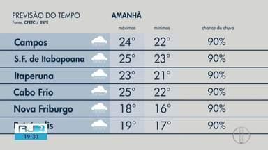 Confira a previsão do tempo para este sábado, 29 de fevereiro de 2020 - Veja a mínima e máxima da temperatura para as cidades da região.