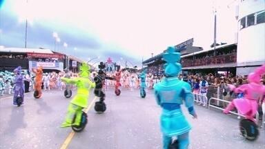 Monociclo vira destaque em escola de samba de São Paulo - Monociclo vira destaque em escola de samba de São Paulo