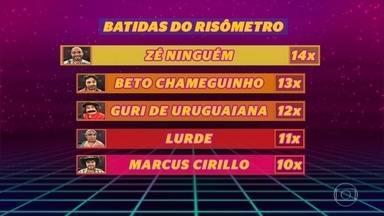 Zé Ninguém é o campeão do Quem Chega Lá - Ivo Ferreira recebe o prêmio ao atingir 14 batidas no Risômetro