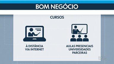 """Prefeitura de Curitiba oferece curso gratuito para empreendedores - o """"Bom Negócio"""" tem 200 vagas disponíveis na capital."""