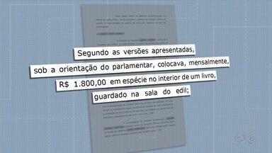 Vereador de São José dos Pinhais é investigado pelo Ministério Público - A suspeita é de que ele pegava parte do salário de funcionários do gabinete.