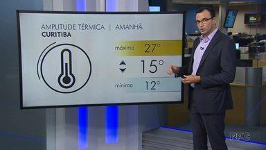 Temperatura volta a subir nesta quarta-feira em Curitiba - No período da manhã continua frio.