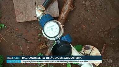 Começa amanhã (04) o rodízio de água em Medianeira - Segundo a Sanepar, a captação e a produção de água tratada tiveram uma redução de 40% na cidade.