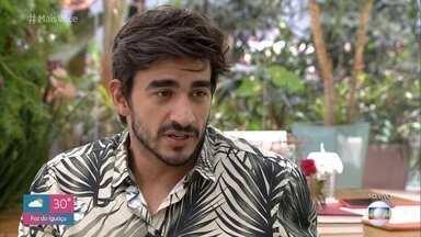 Guilherme pede desculpas a Bianca e afirma que vai esperar por Gabi - Modelo garante que sua relação com Bianca foi apenas de amizade, mas reconhece erro não ter sabido dosar o carinho depois de ter se envolvido com Gabriela