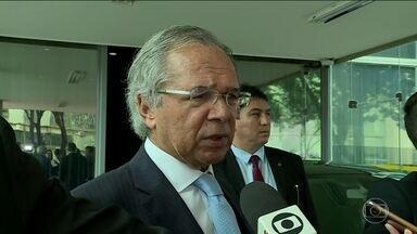 Ministro da Economia diz que PIB de 1,1% já era esperado - 'Não entendi essa comoção toda', afirmou Paulo Guedes. Ministro disse esperar crescimento acima de 2% em 2020 com as reformas.
