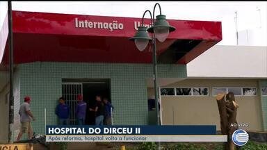 Após reforma, Hospital do bairro Dirceu II volta a funcionar - Após reforma, Hospital do bairro Dirceu II volta a funcionar