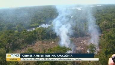 AGU cobra indenizações por crimes ambientais na Amazônia - Advocacia-Geral da União cobra indenizações na Justiça.