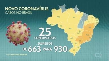 Rio Grande do Sul confirma o 1º caso do novo coronavírus no estado - No Brasil, o governo do Rio Grande do Sul confirmou o primeiro caso de novo coronavírus no estado. Na noite de segunda-feira (09), a Secretaria de Saúde do Rio de Janeiro confirmou mais cinco casos.
