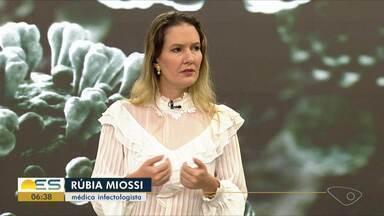 Médica orienta o que a população deve fazer para evitar a contaminação do Coronavírus - A médica Rúbia Miossi explica que esse é o momento de mudar alguns hábitos.