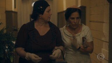 Lola desiste de falar com Afonso - Ela prefere deixar o hospital com Genu