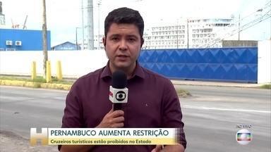 Pernambuco amplia medidas contra o novo coronavírus - Prefeitura do Recife recomenda que idosos acima de 60 anos trabalhem em casa. Todos os grandes eventos e as atividades culturais em espaços públicos administrados pela prefeitura foram cancelados.
