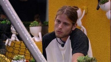 Daniel justifica Monstro para Thelma: 'Foi por menos afinidade' - Daniel justifica Monstro para Thelma: 'Foi por menos afinidade'
