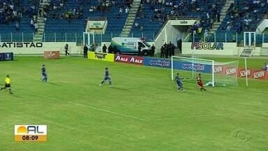 Com time alternativo, CRB vence o Confiança por 1 a 0 - Bruno Cosendey fez o gol da vitória regatiana
