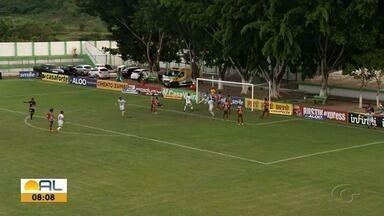 Murici e CSE empatam em jogo que abriu a 6ª rodada do Alagoano - Partida terminou 2 a 2