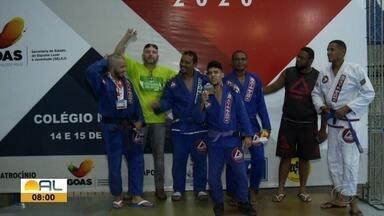 Campeonato Alagoano de Jiu-Jitsu reúne atletas de várias cidades do Estado - Competição também contou com participantes de outras regiões do País