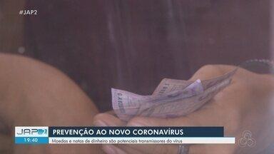 Dinheiro e moedas são potenciais transmissores de coronavírus - Dinheiro e moedas são potenciais transmissores de coronavírus