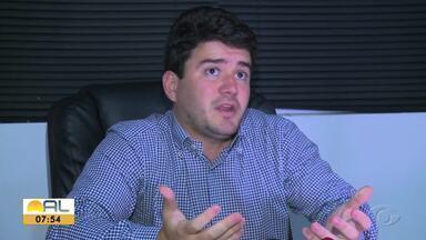 FAF suspende o Campeonato Alagoano por 15 dias - Felipe Feijó, presidente da Federação Alagoana de Futebol, em acordo com os clubes, paralisou o campeonato estadual em combate ao coronavirus