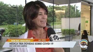Médica esclarece dúvidas sobre o Covid-19 - Telespectadores enviaram dúvidas à redação.
