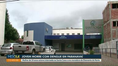 Moradora de Diamante do Norte morre com dengue - Ela estava internada na Santa Casa de Paranavaí.