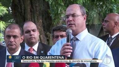 Governo do Rio publica decreto de emergência nesta terça-feira no Diário Oficial (Parte 2) - Estado está de quarentena.