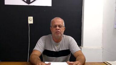 Presidente suspende atividades no Tupi e pede seriedade para frear avanço do coronavírus - José Luiz Mauler Júnior testou negativo para doença, mas três jogadores do Carijó tiveram sintomas da doença. Mandatário admite estender paralisação, caso necessário