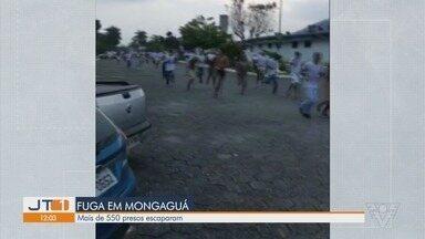 Centenas de detentos fogem de presídio em Mongaguá - Mais de 500 detentos fugiram do Centro de Progressão Penitenciária (CPP) da cidade.