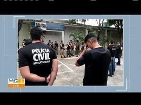 Operação conjunta das polícias de Valadares cumpre 11 mandados de busca e apreensão - Mandados são de crimes relacionados ao trafico de dragas e homicídios em Governador Valadares.
