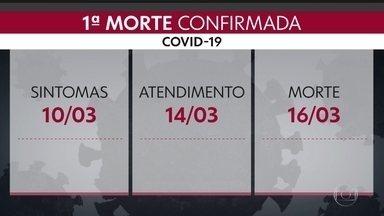 SP2 - Edição de terça-feira, 17/03/2020 - São Paulo registra a primeira morte pela Covid-19. Comitê de Crise diz que situação é crítica nos bancos de sangue. Cerca de 1400 presos fugiram de presídios no estado.