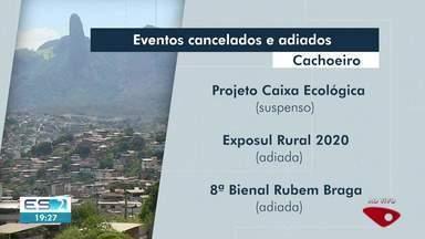 Prefeitura de Cachoeiro, ES, cancela eventos - Medidas são para evitar contágio pelo coronavírus.