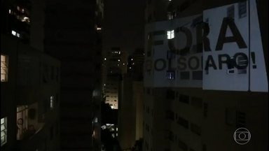 Noite de panelaços contra e a favor do presidente Bolsonaro - Pelo segundo dia seguido, a atuação de Bolsonaro foi alvo de protestos em diversas cidades do país.