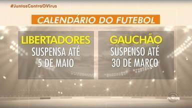 Campeonatos e clubes que estão com atividades suspensas devido ao coronavírus - Confira comentário de Pedro Ernesto Denardin.