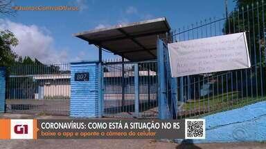 Escolas e lojas estão com as atividades suspensas em Caxias do Sul - Assista ao vídeo.