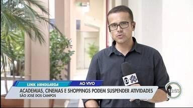 São José decreta emergência e anuncia novas medidas contra coronavírus - Nesta quarta-feira (18), cidade registrou dois casos com resultado de teste positivo para Covid-19.