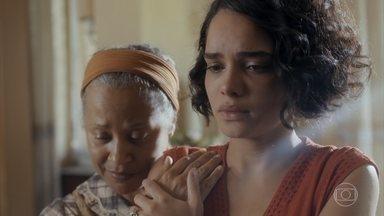 Afonso fica aflito e Inês diz que Lúcio quer que casem o mais rápido possível - Ele manda Inês chamar Lúcio e diz que quer falar com ele o quanto antes