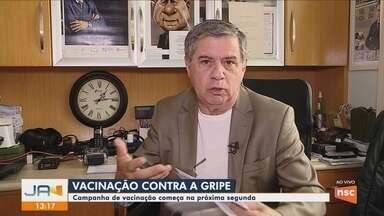 Em quarentena, Mário Motta participa do Jornal do Almoço - Em quarentena, Mário Motta participa do Jornal do Almoço
