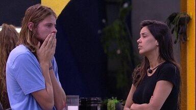Daniel chora e é confortado por Ivy: 'Você é forte o suficiente' - Daniel chora e é confortado por Ivy: 'Você é forte o suficiente'