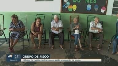 Cidades da região de Ribeirão Preto adotam medidas para proteger idosos - Por fazer parte do grupo de risco, tentativa é de isolamento maior para evitar o coronavírus.