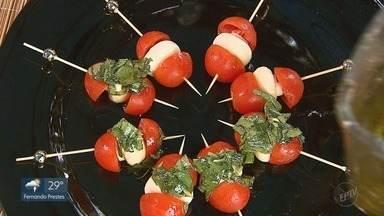Prato Fácil: Kassab ensina como fazer aperitivo saboroso - Petisco é homenagem à cidade de Gênova na Itália.