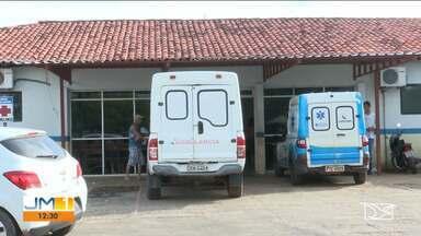 Paciente morre após sofrer queda de maca em hospital em Santa Inês - Secretaria de Saúde de Santa Inês informou que iria apurar o caso com a direção do hospital pra depois falar sobre o que aconteceu.
